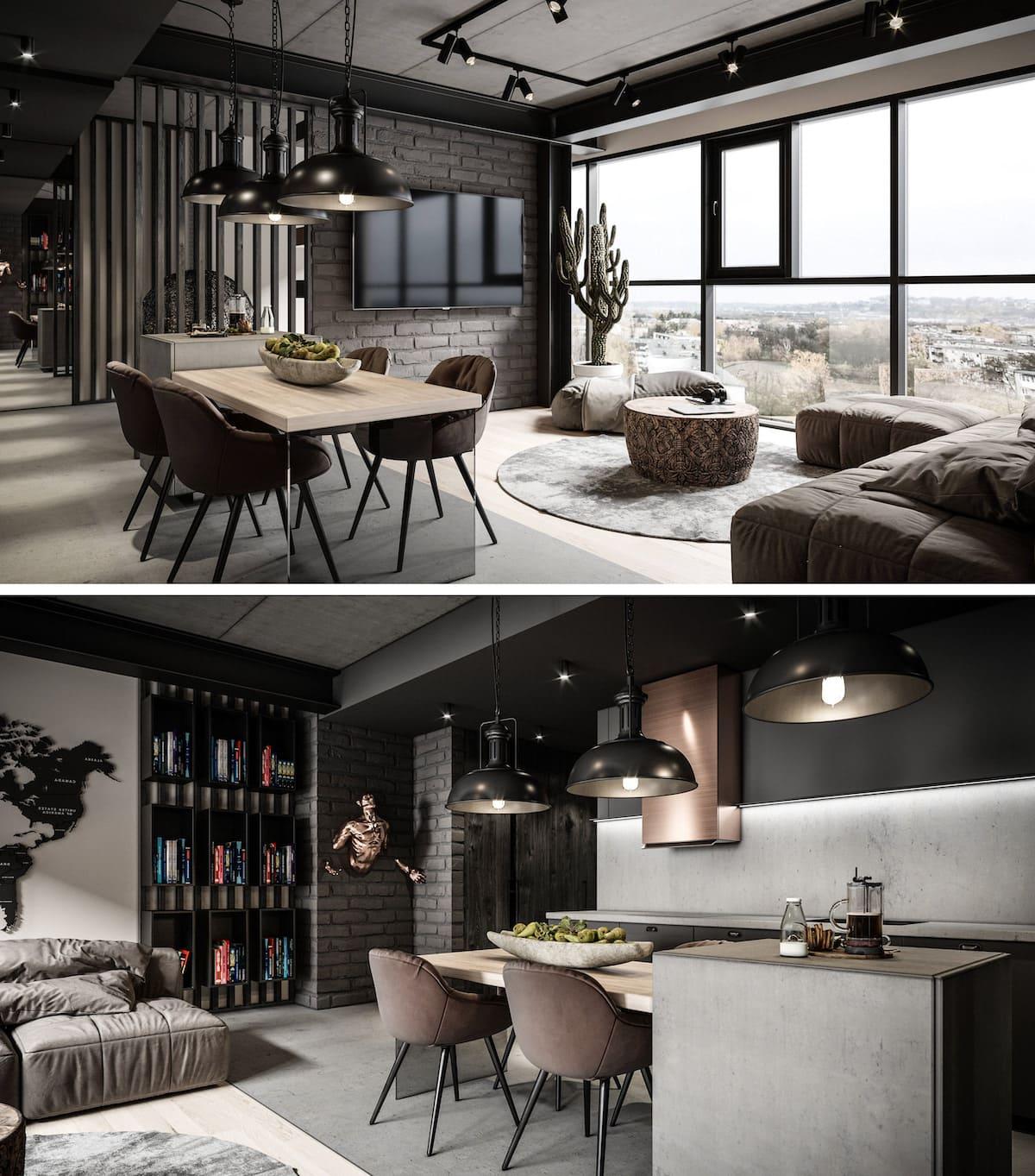 дизайн интерьера гостиной фото 31