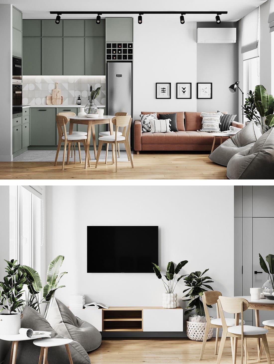 дизайн интерьера гостиной фото 15