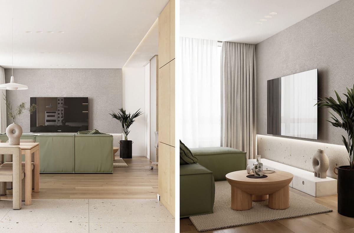 дизайн интерьера гостиной фото 19