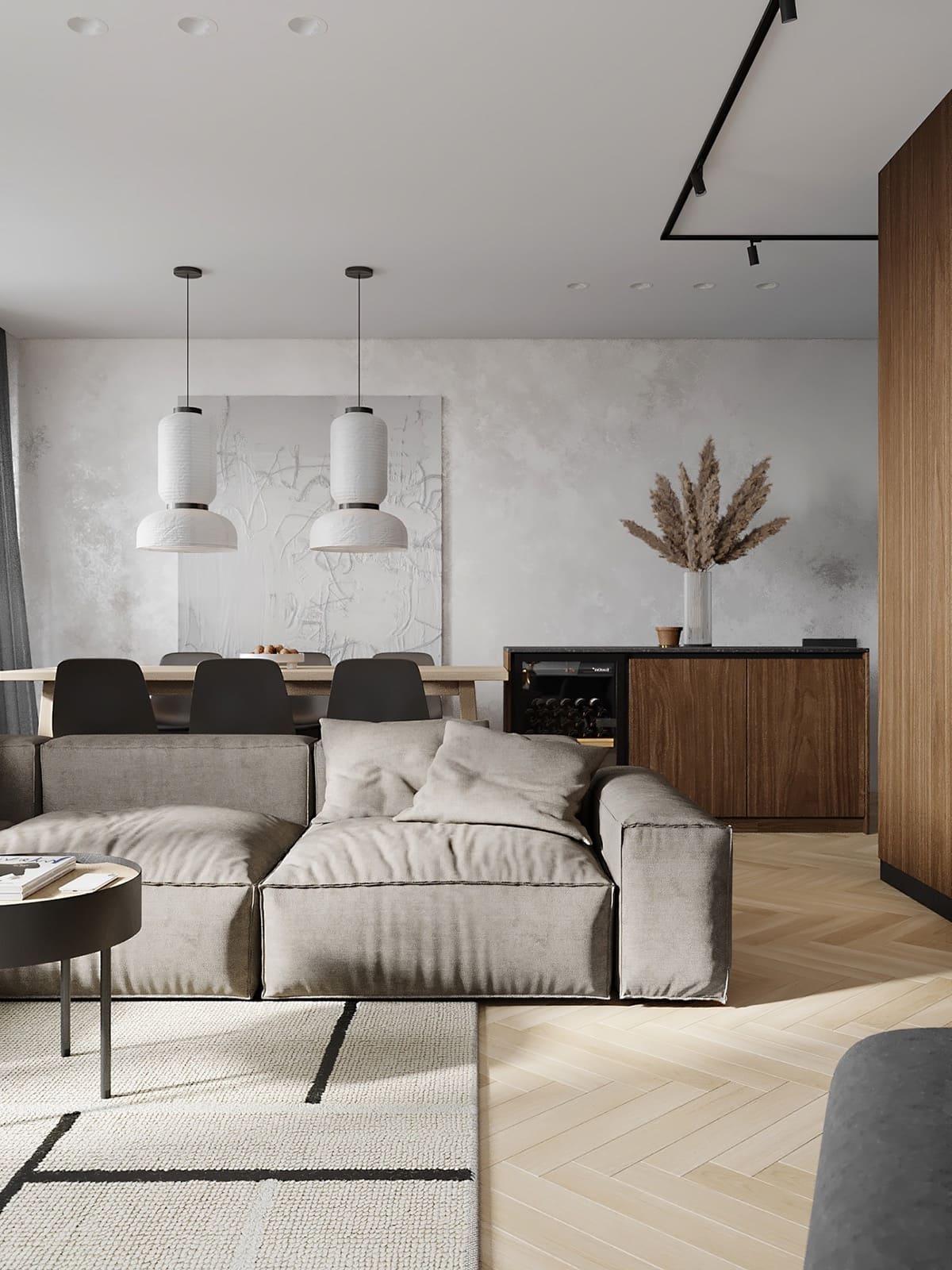 дизайн интерьера гостиной фото 27