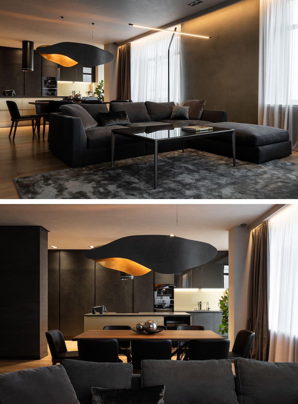 дизайн интерьера гостиной фото 34