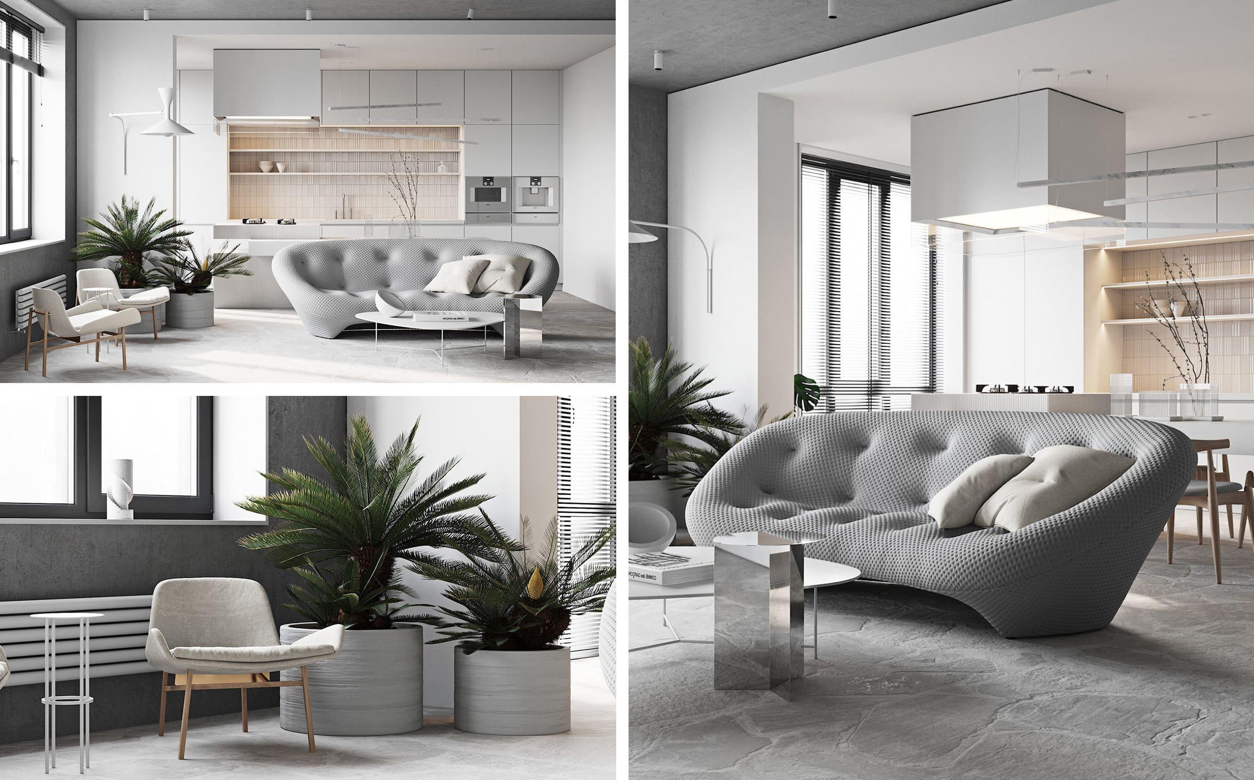 дизайн интерьера гостиной фото 41