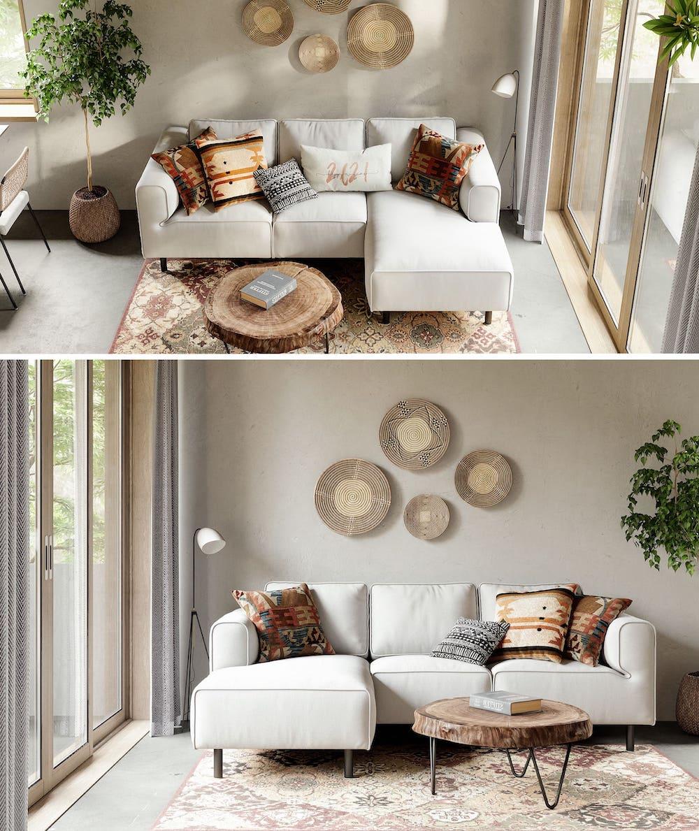 дизайн интерьера гостиной фото 39