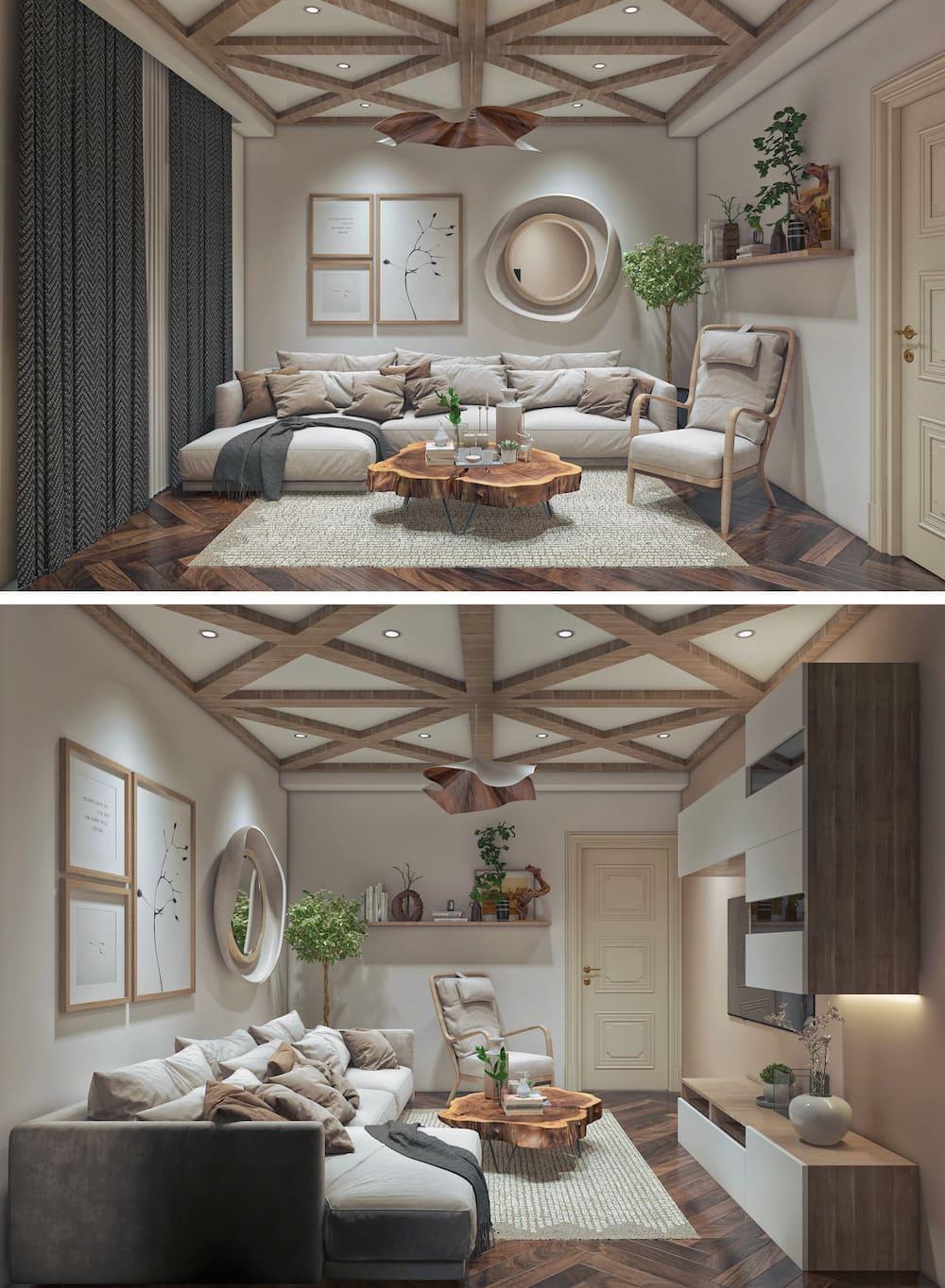 дизайн интерьера гостиной фото 10