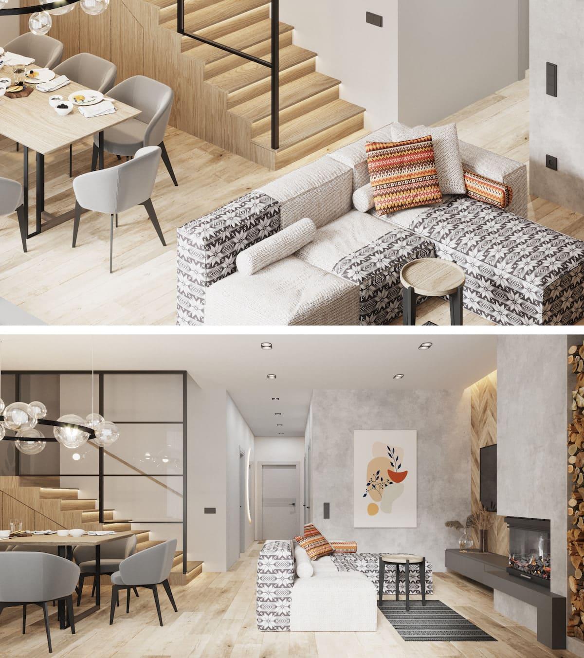 дизайн интерьера гостиной фото 11