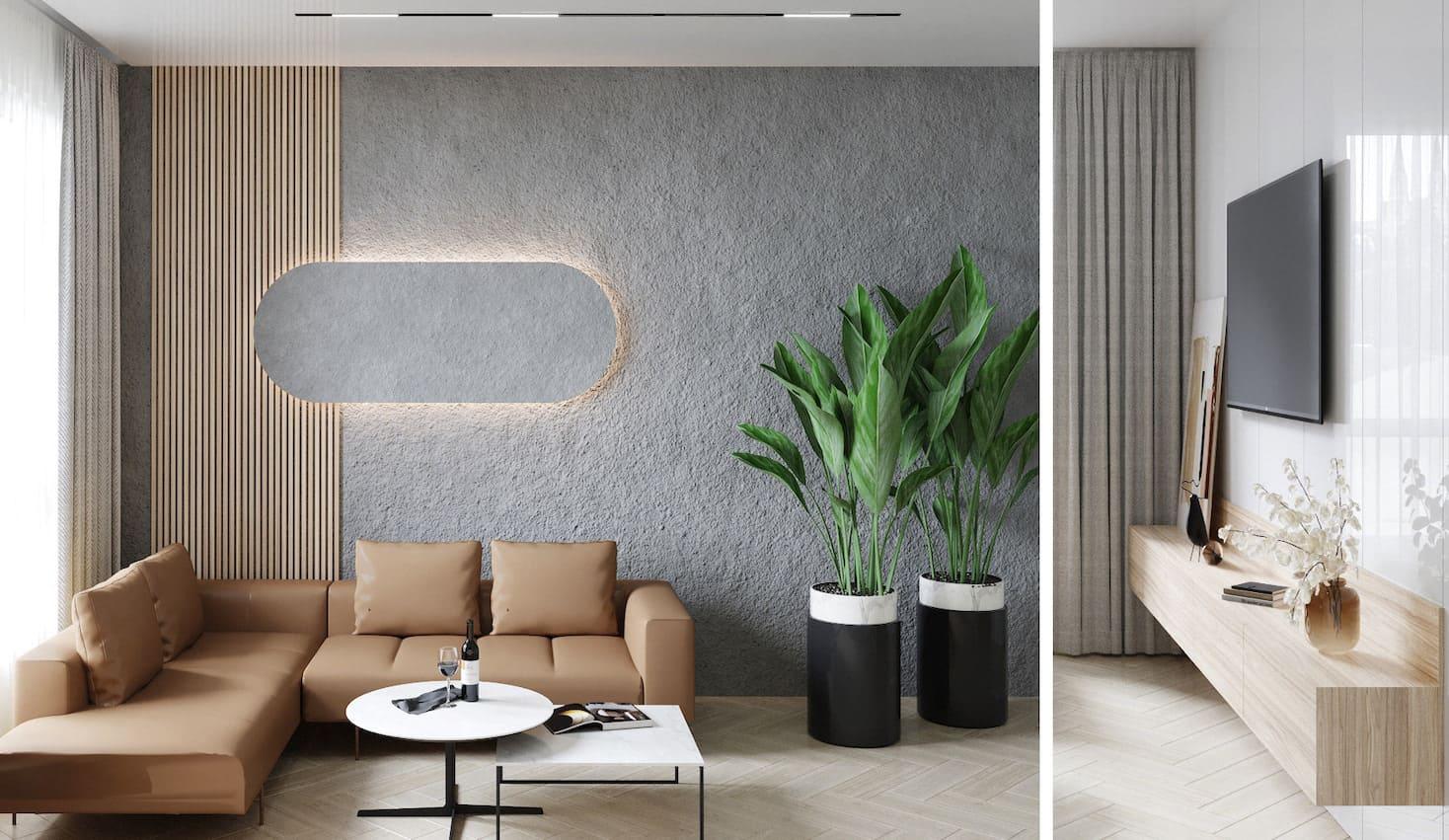 дизайн интерьера гостиной фото 12