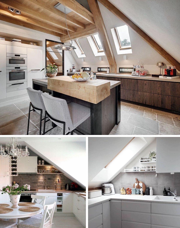 кухня в частном доме 20