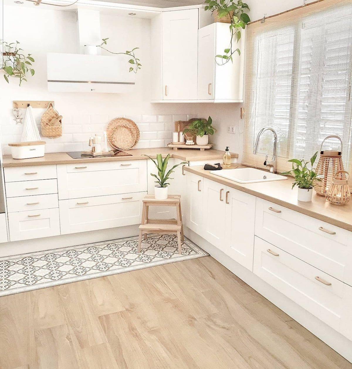 кухня в частном доме 27