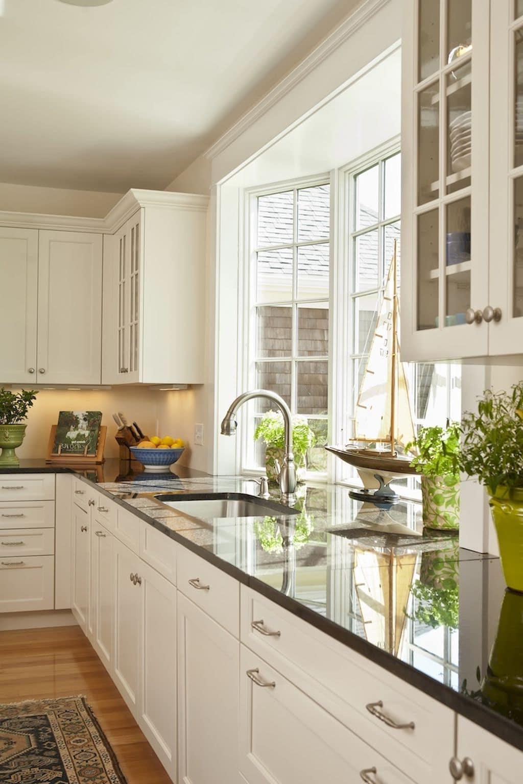 кухня в частном доме 28