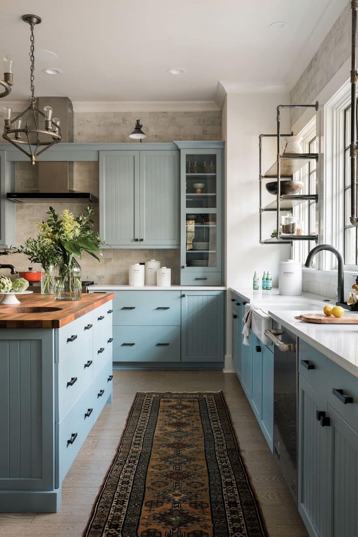 кухня в частном доме 29