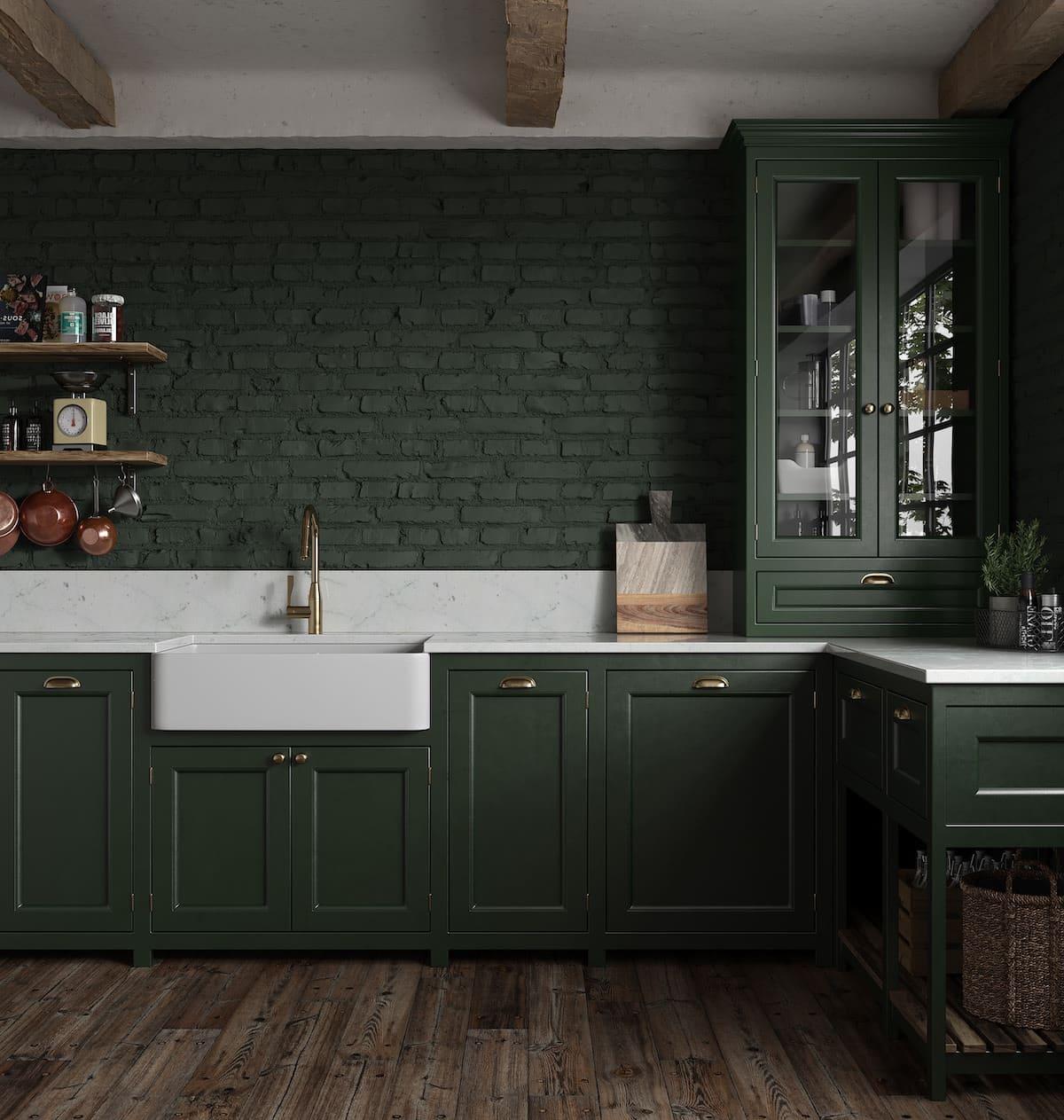 кухня в частном доме 33