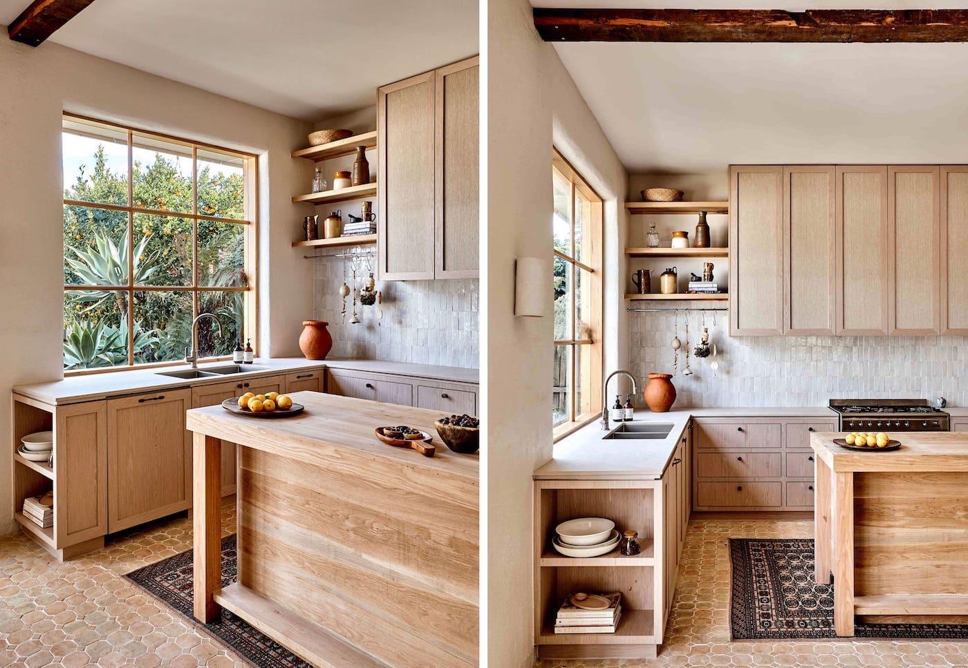 кухня в частном доме 34