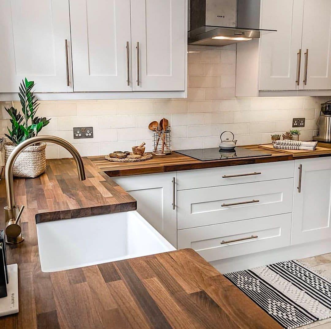 кухня в частном доме 44