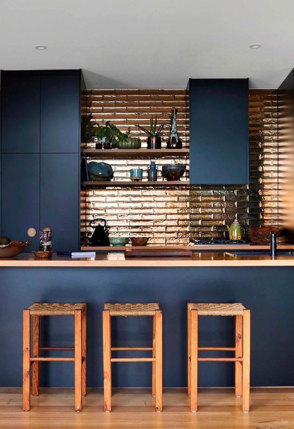 кухня в частном доме 47
