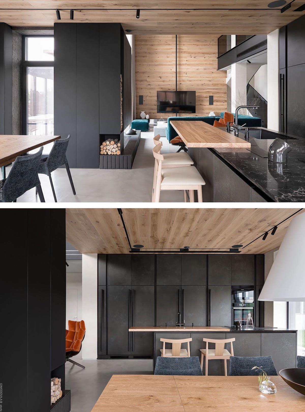 кухня в частном доме 4