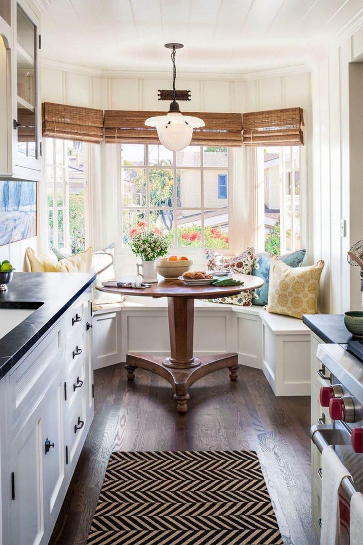 кухня в частном доме 57
