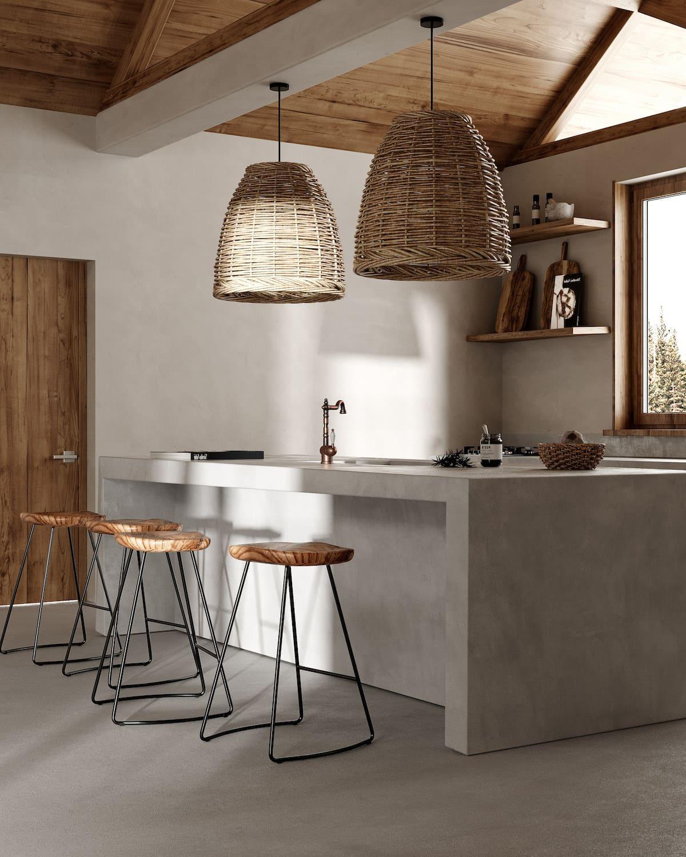 кухня в частном доме 12