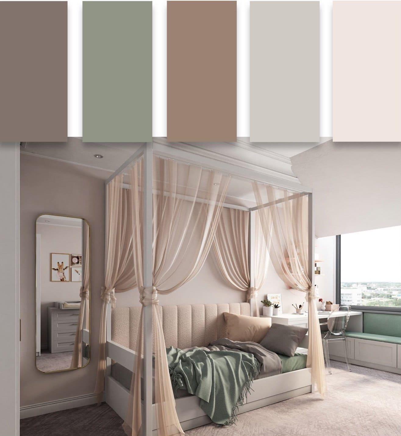 модные цвета в интерьере 10