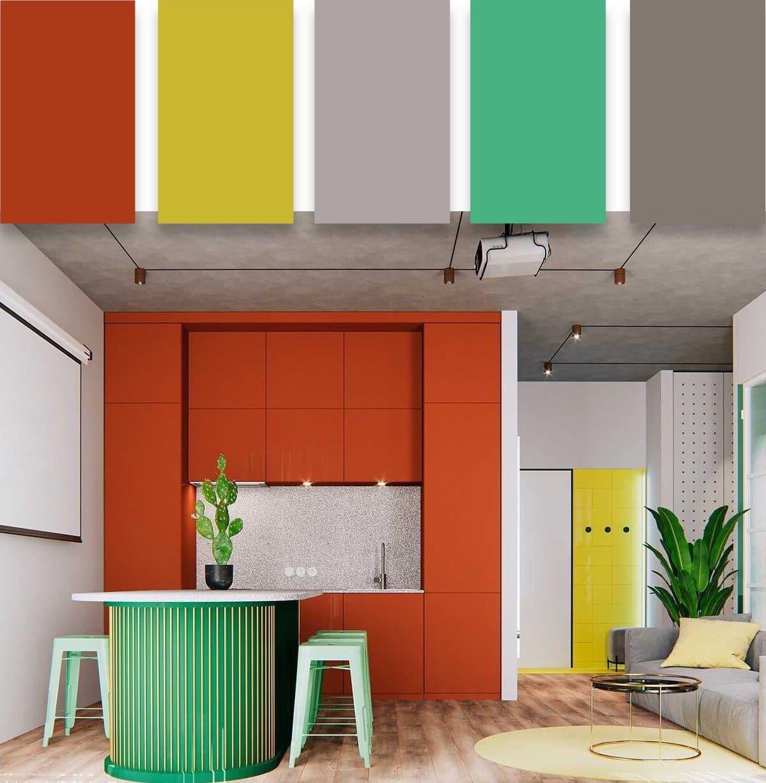 модные цвета в интерьере 14