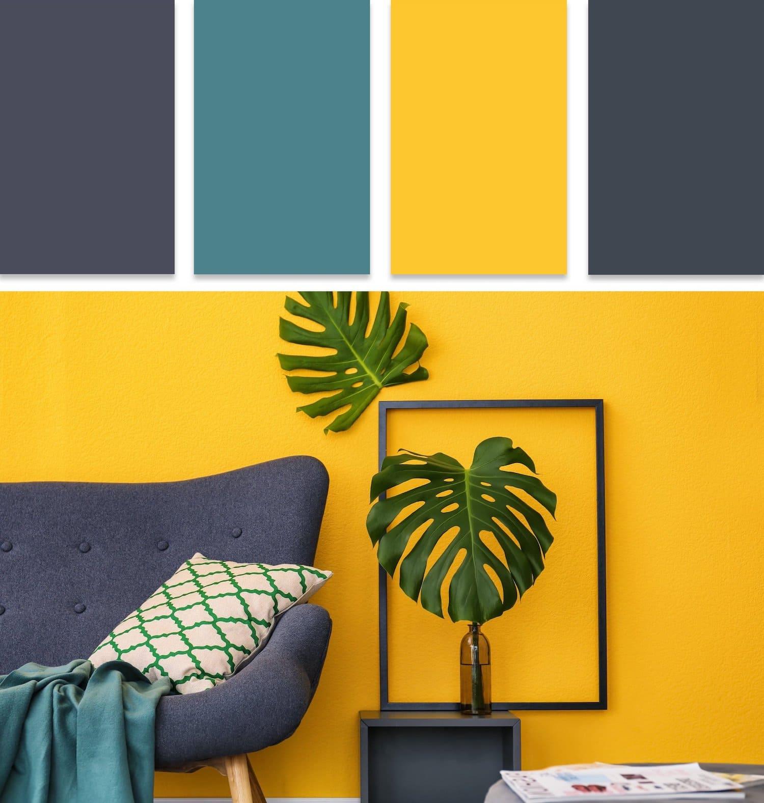 модные цвета в интерьере 16