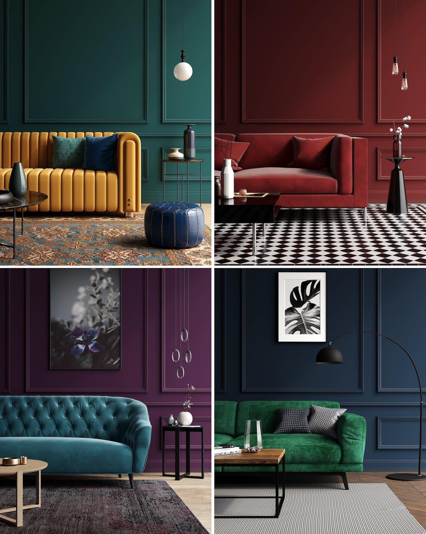 модные цвета в интерьере 2