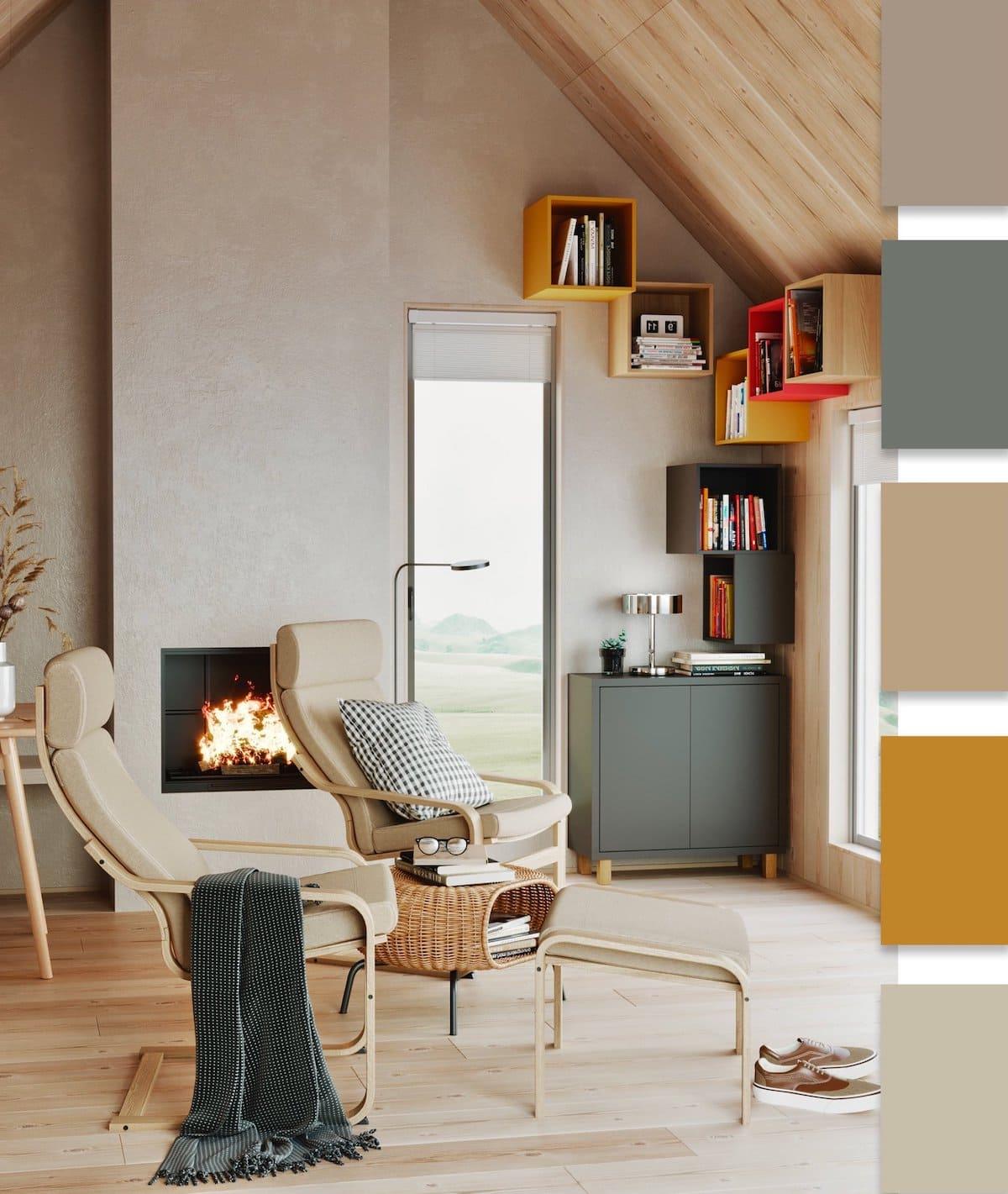 модные цвета в интерьере 29
