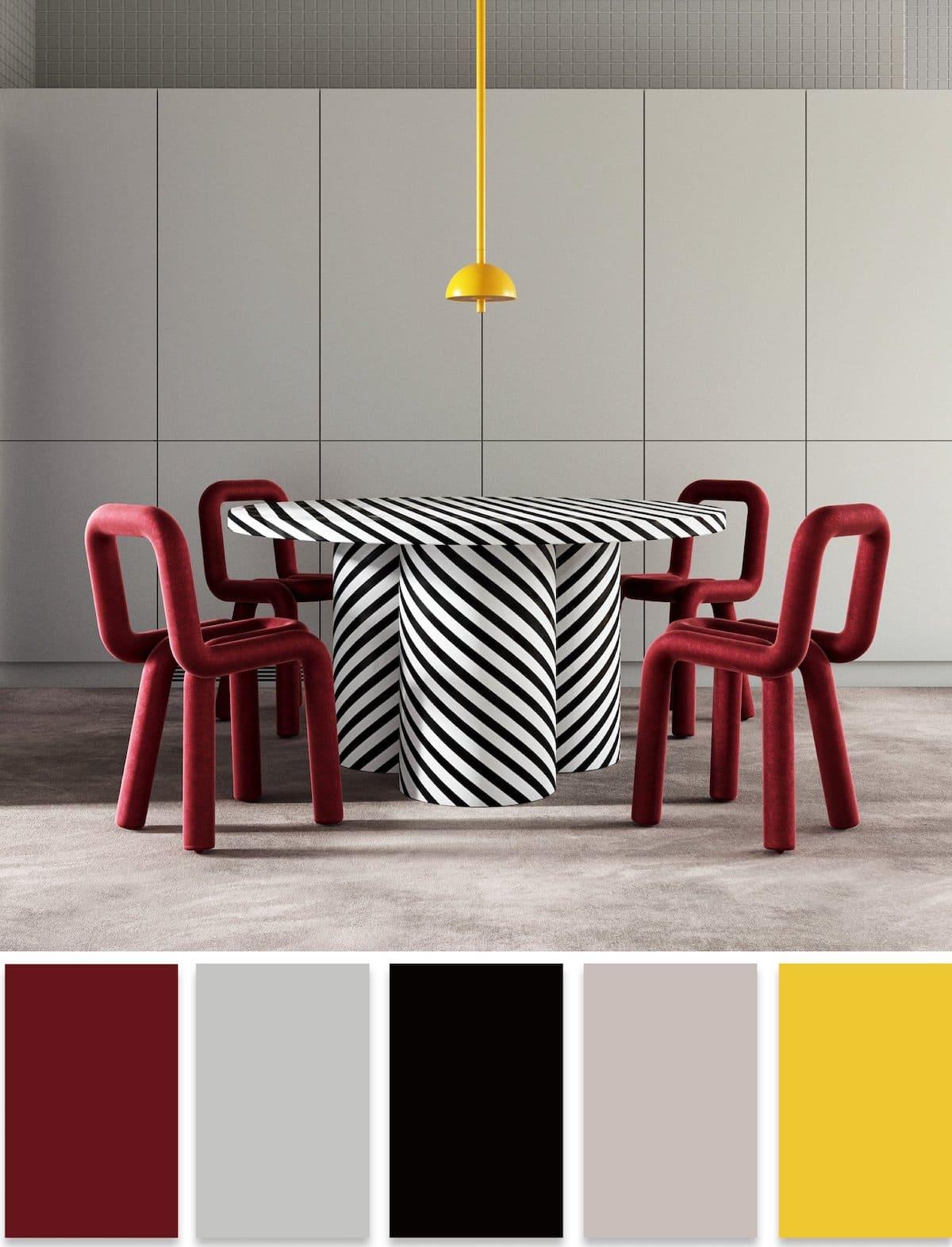 модные цвета в интерьере 32