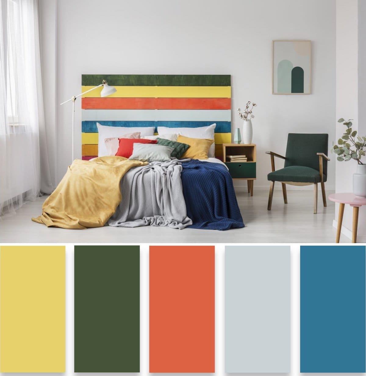 модные цвета в интерьере 39