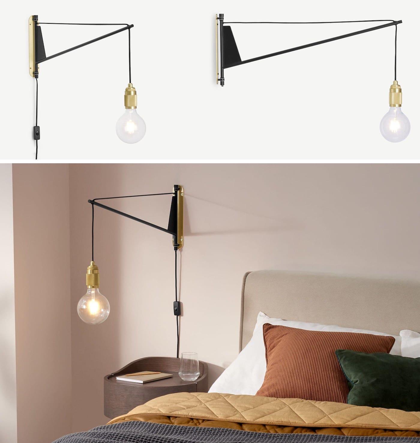 освещение в спальне фото 11