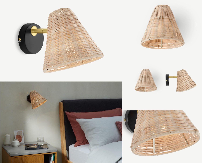 освещение в спальне фото 14