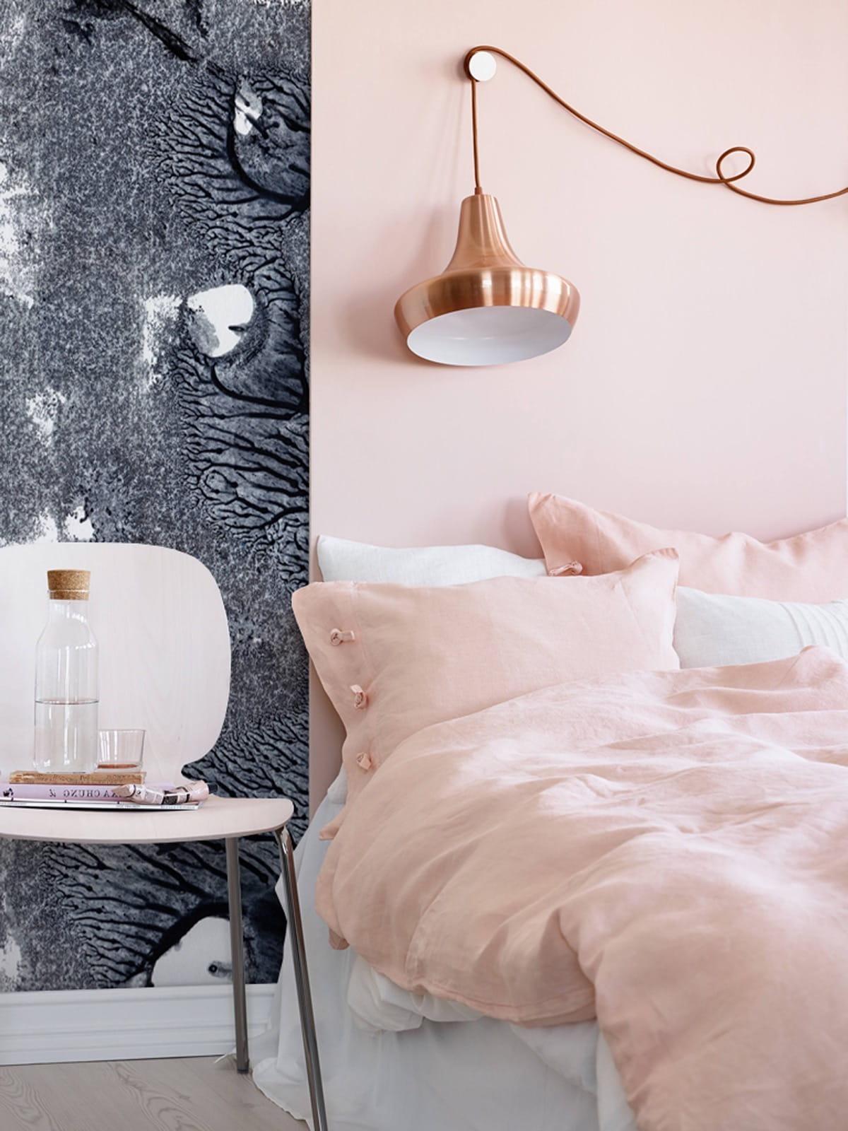 освещение в спальне фото 5