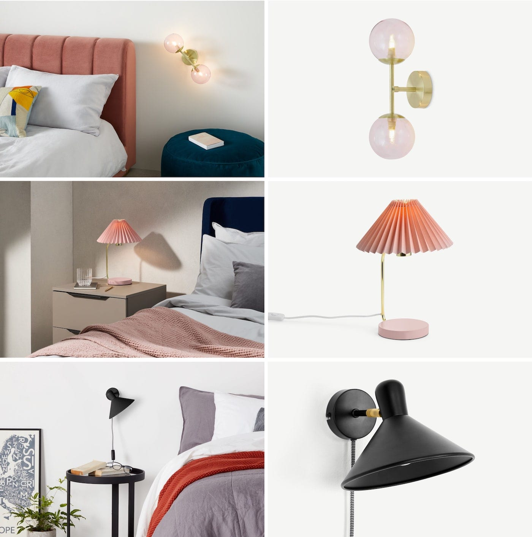 освещение в спальне фото 6