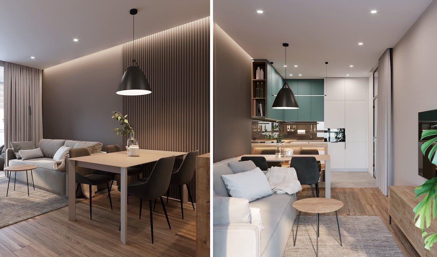 модный дизайн интерьера квартиры фото 102