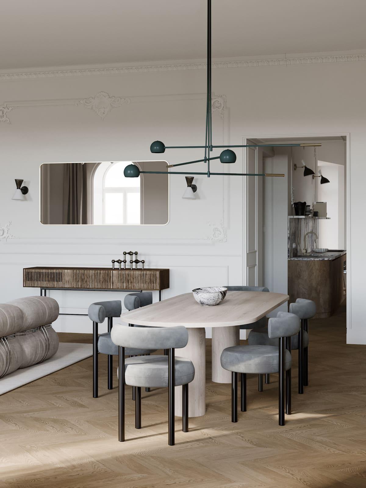 модный дизайн интерьера квартиры фото 16