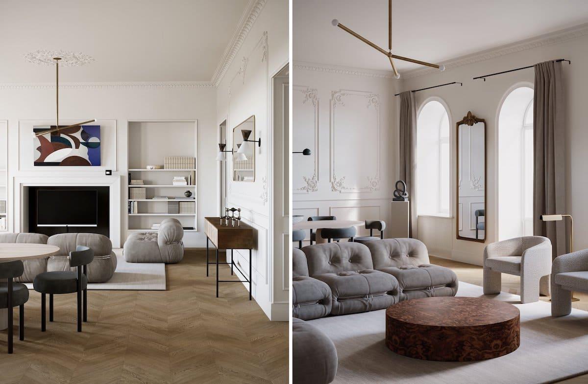 модный дизайн интерьера квартиры фото 17
