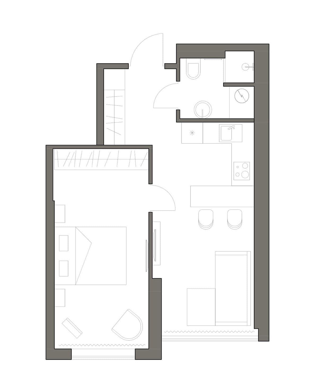 модный дизайн интерьера квартиры фото 23