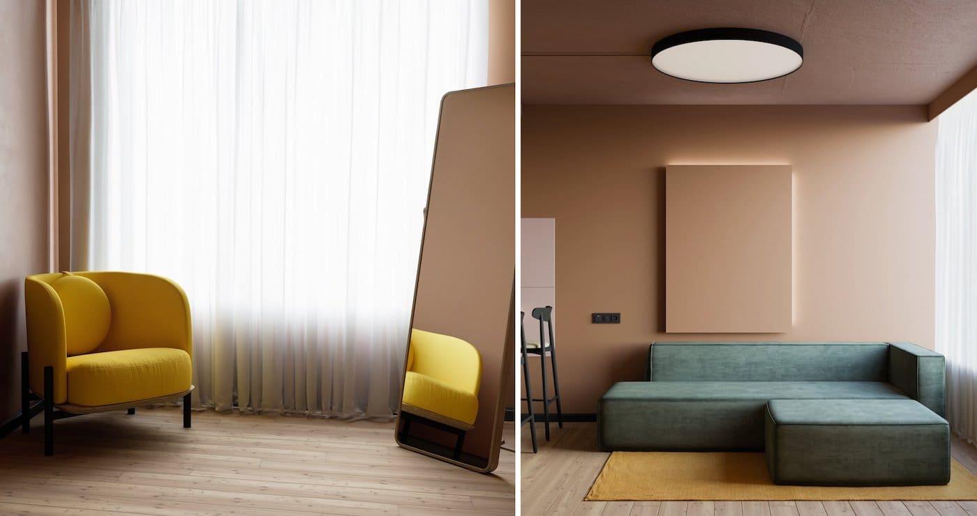 модный дизайн интерьера квартиры фото 26