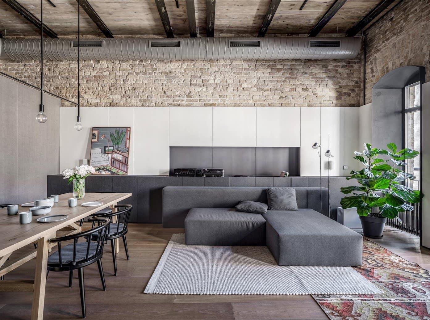 модный дизайн интерьера квартиры фото 39