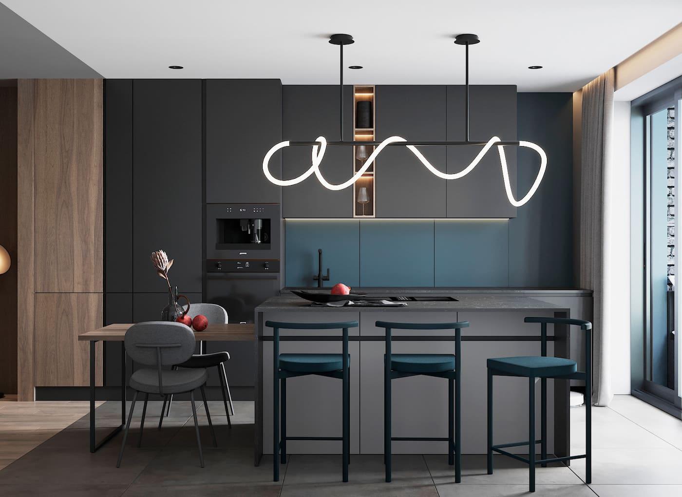модный дизайн интерьера квартиры фото 53