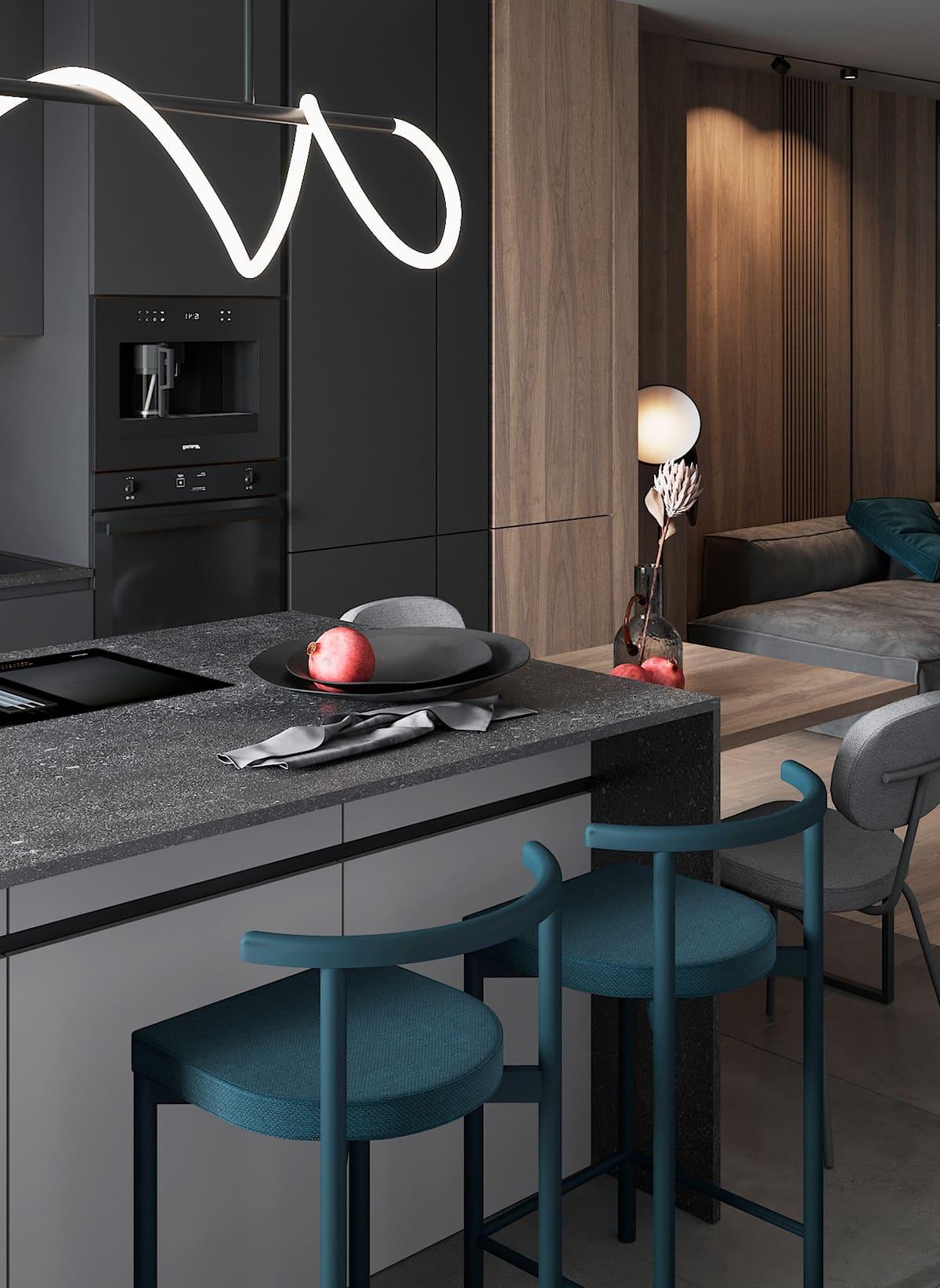 модный дизайн интерьера квартиры фото 55