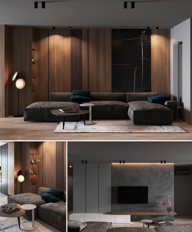 модный дизайн интерьера квартиры фото 56
