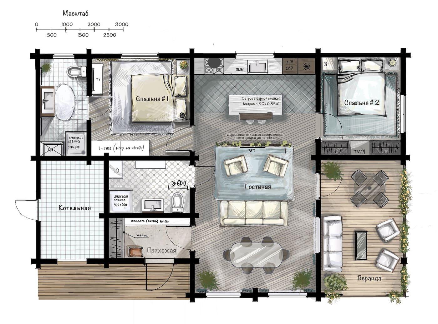 модный дизайн интерьера квартиры фото 59