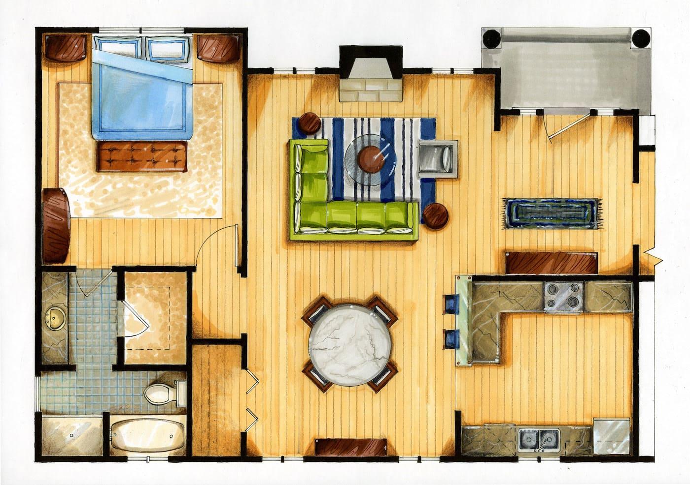 модный дизайн интерьера квартиры фото 62