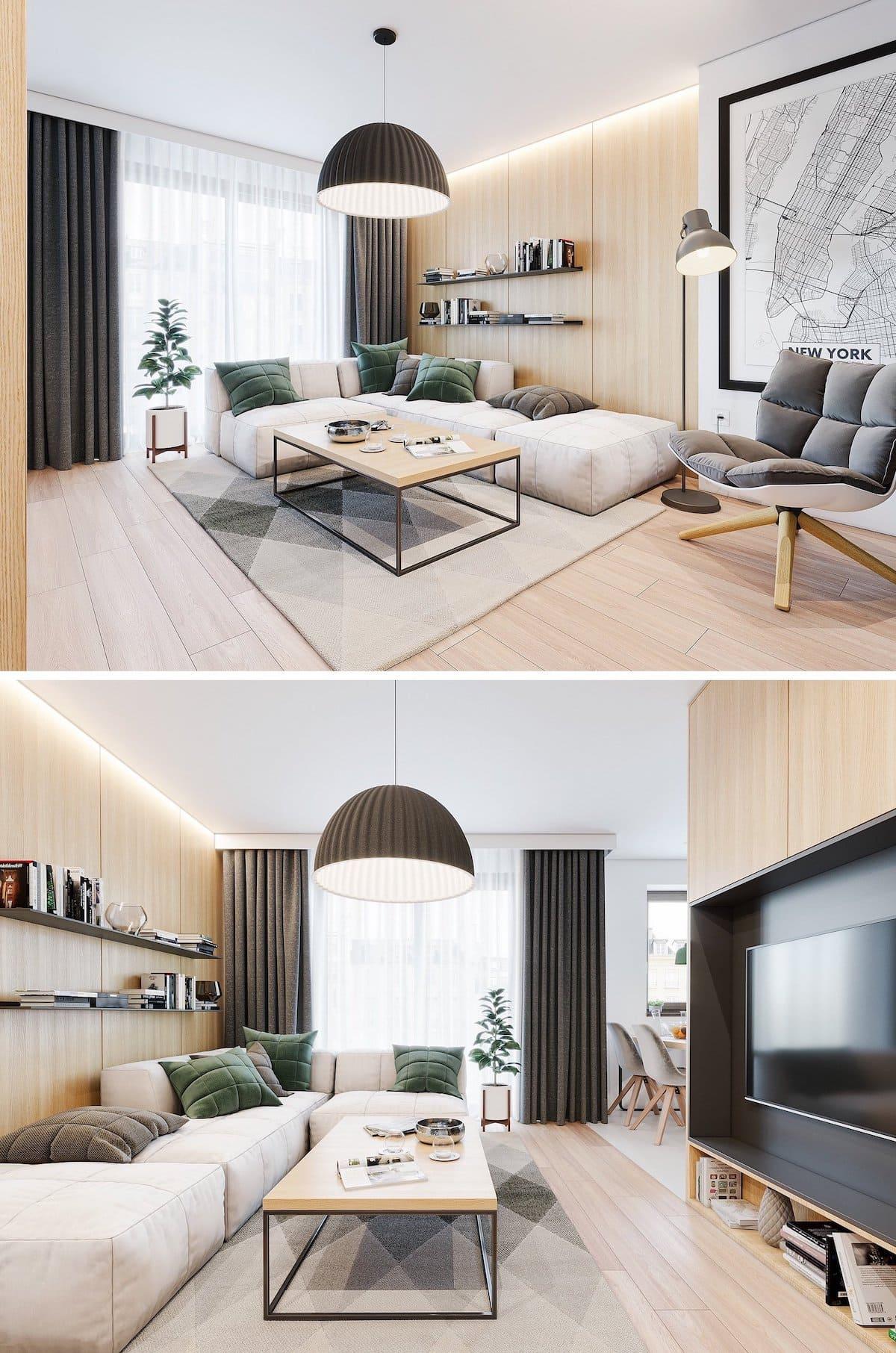 модный дизайн интерьера квартиры фото 67