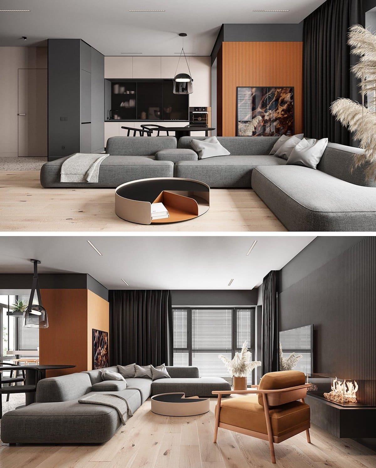 модный дизайн интерьера квартиры фото 74