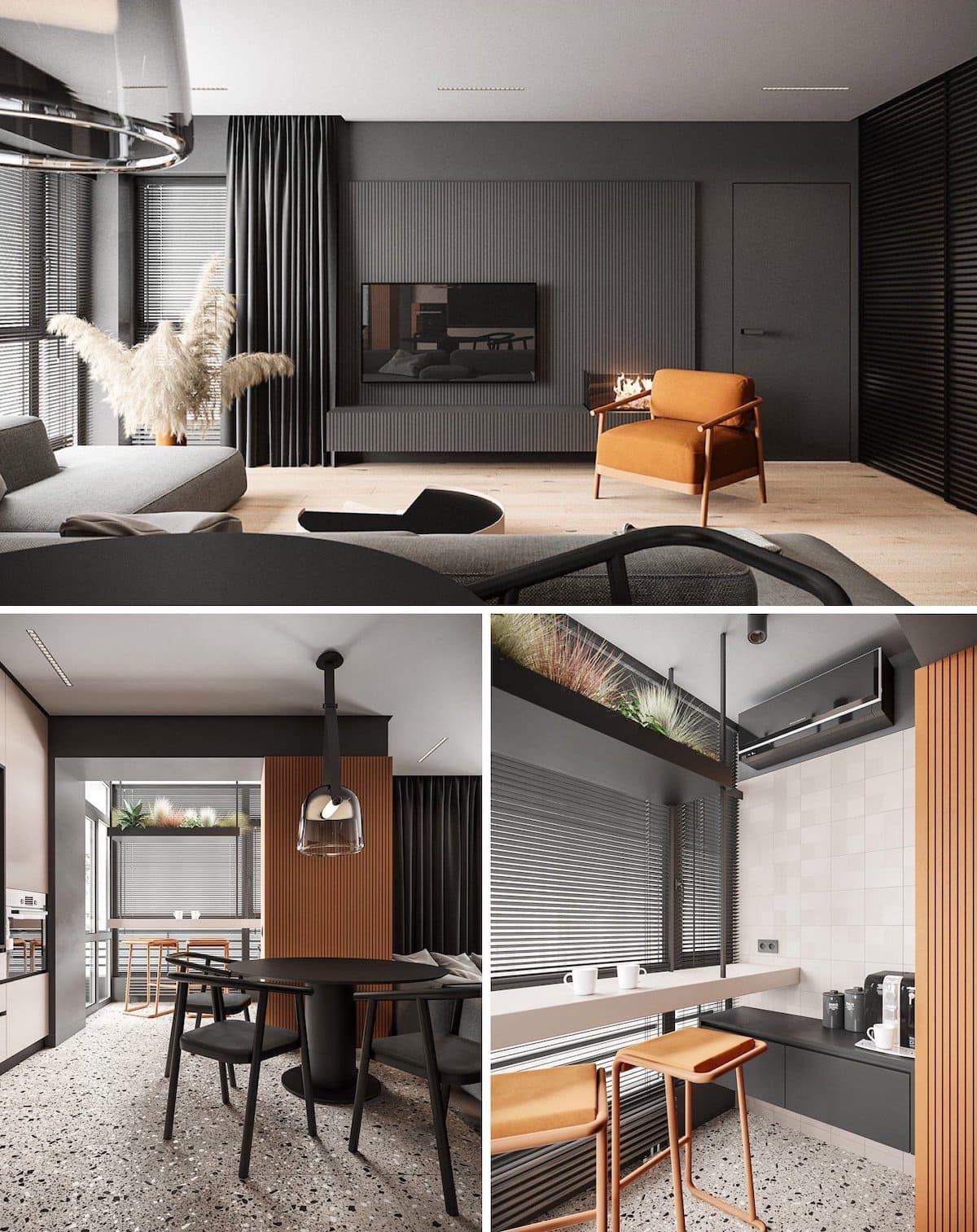 модный дизайн интерьера квартиры фото 75