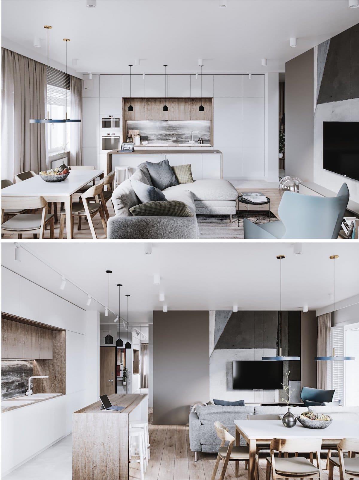 модный дизайн интерьера квартиры фото 81