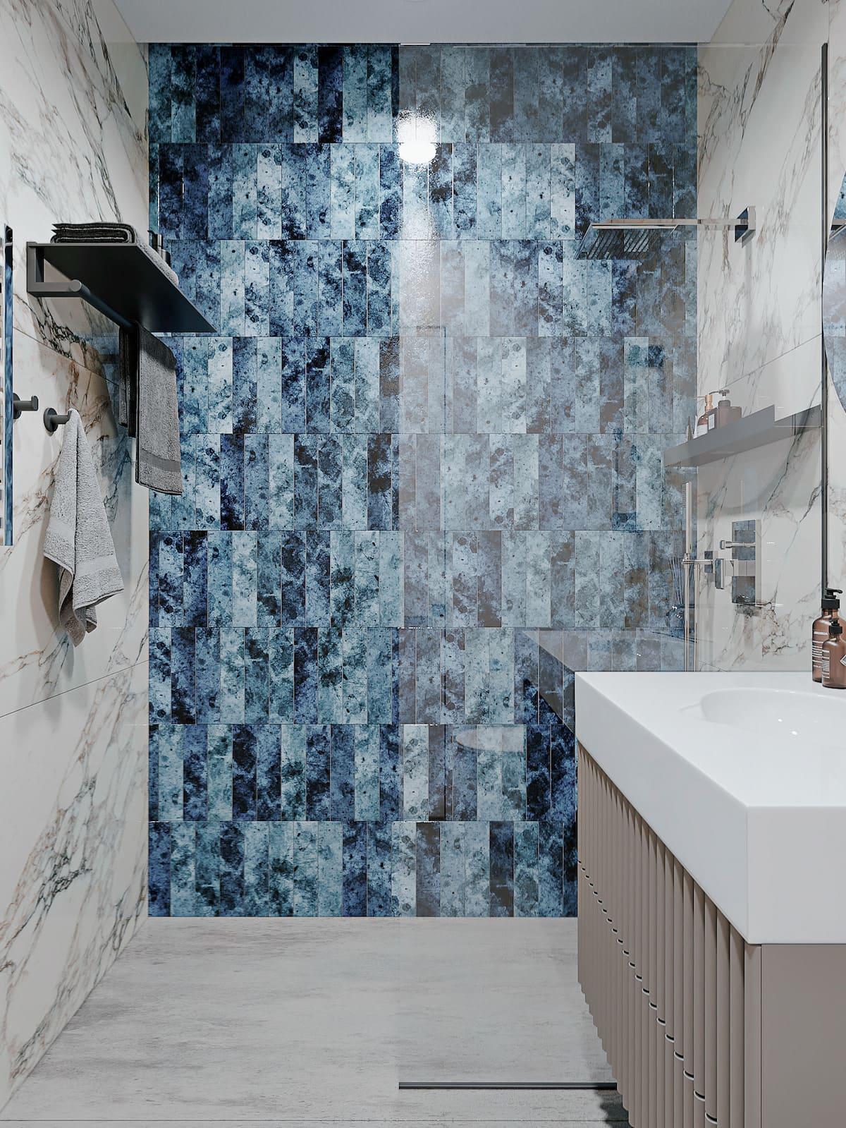 дизайн интерьера ванной комнаты фото 30