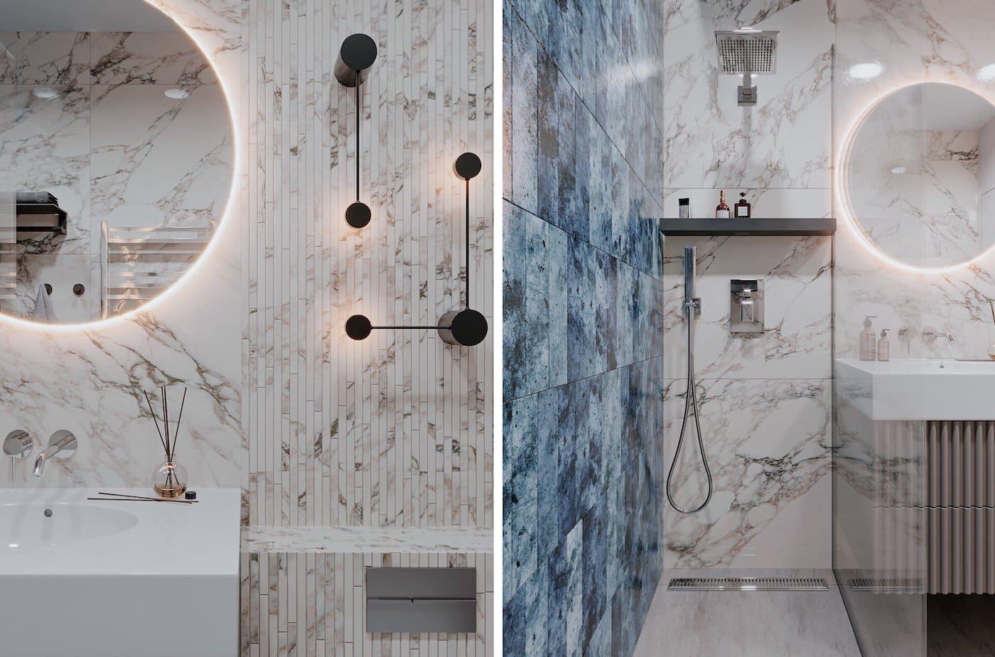 дизайн интерьера ванной комнаты фото 31