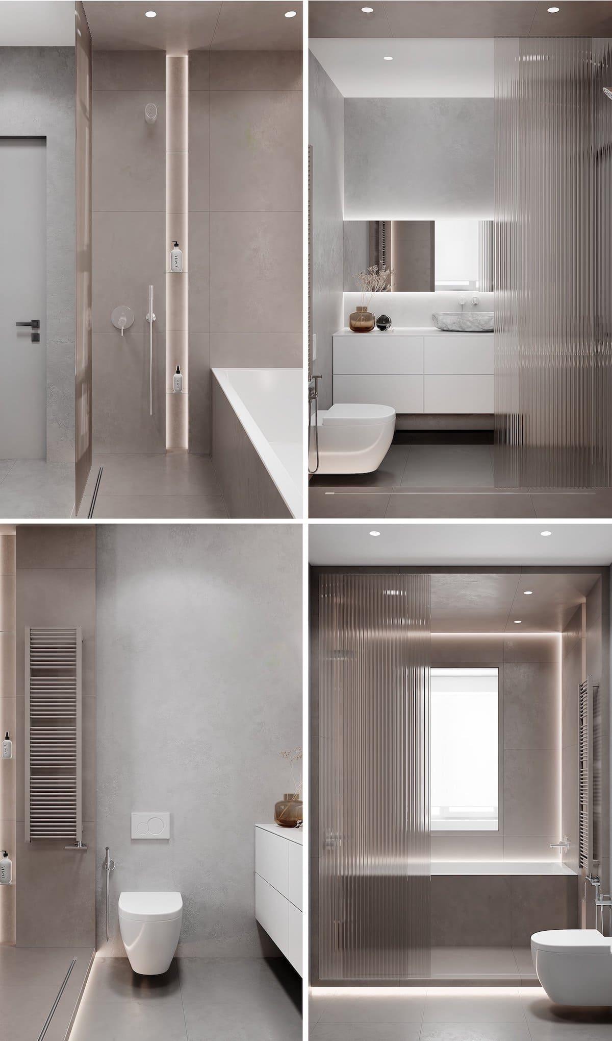 дизайн интерьера ванной комнаты фото 82